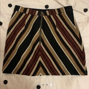 Topshop Skirts - Topshop CHEVRON mini skirt